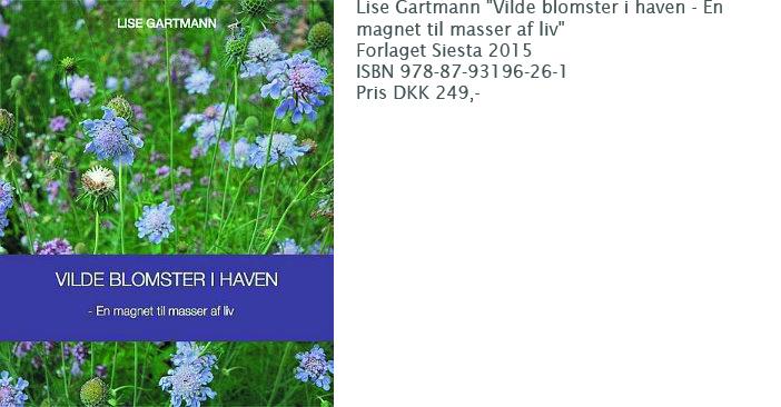 Bogen Vilde blomster i haven