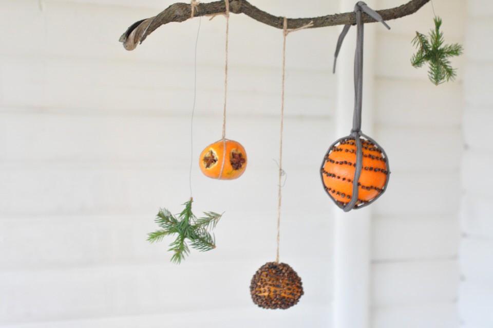 Juleuro med appelsiner