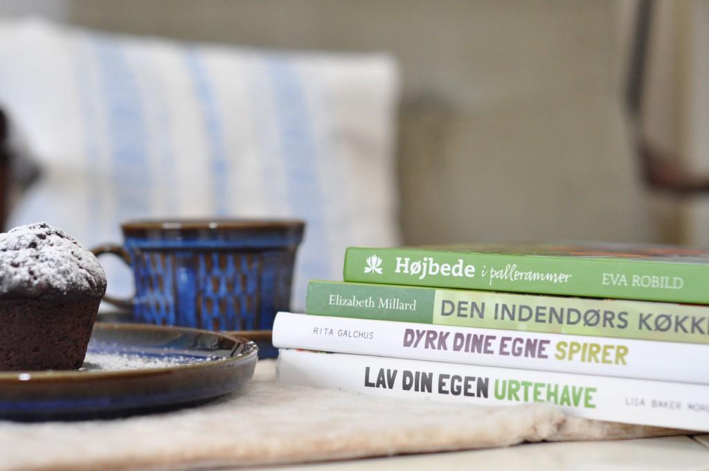 Fire havebøger til den spiselige have