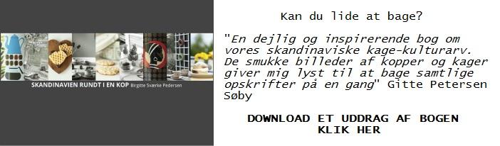 E kogebogen Skandinavien rundt i en kop