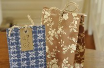 Gaveposer af gavepapir og tapet