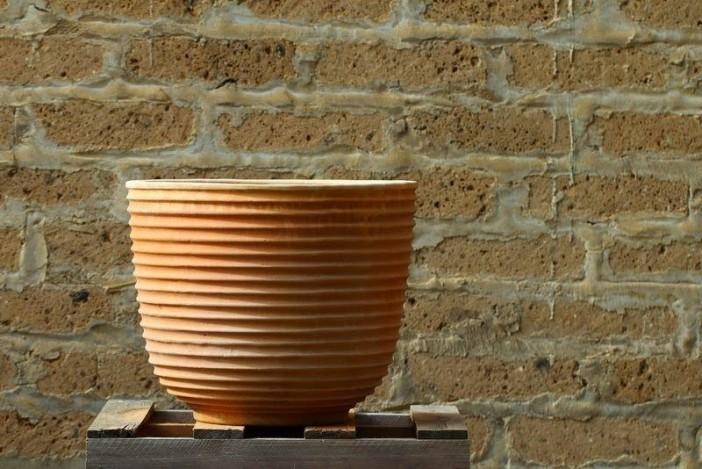Terracottakrukke Vaso rigatto