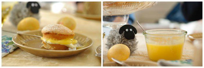 Byg selv lagkage med lemoncurd og flødeskum