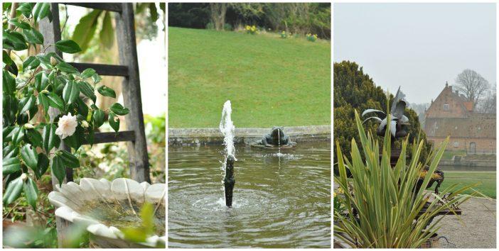 Gisselfeld - scener fra haven og Paradehuset