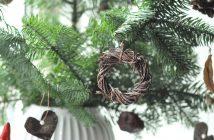 Naturpynt til juletræet