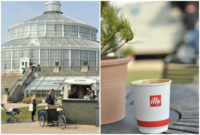 Botanisk haves kaffevogn